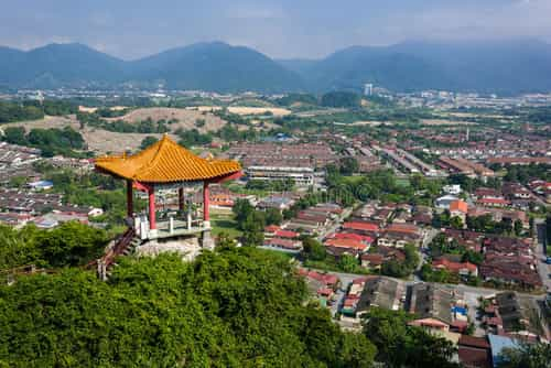 Ipoh Temple on top of mountain